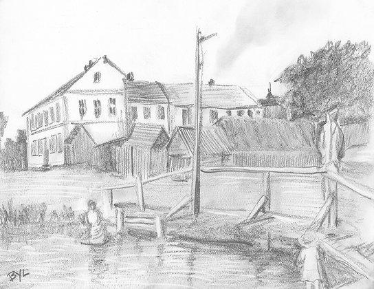 Shtetl at the River
