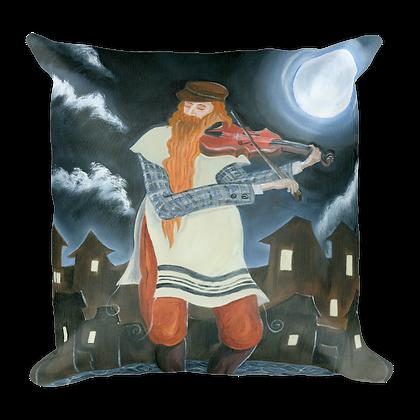 Midnight Fiddler Pillow