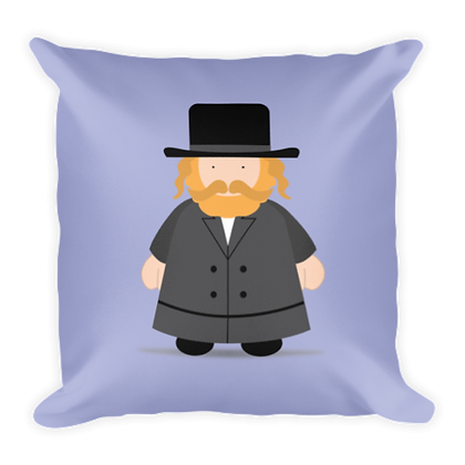 Chasid Rebbe Pillow