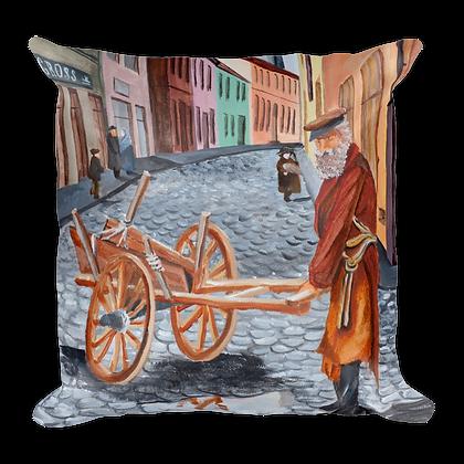 Porter in Krakow Pillow