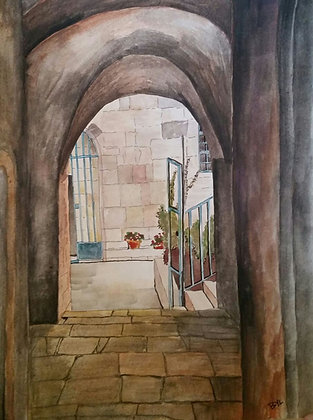 Jerusalem Alleyway