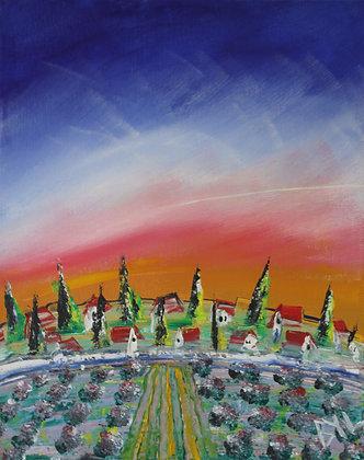 Moshav on a Hill