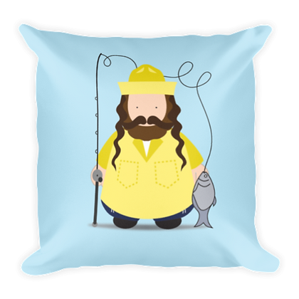 Fisherman Rebbe Pillow