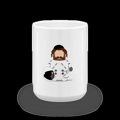 Astronaut Rebbe Mug
