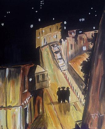 Three Shadows in Jerusalem