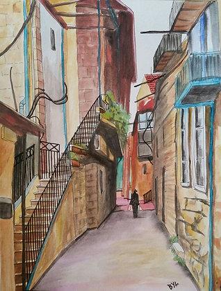 Jerusalem Stairs