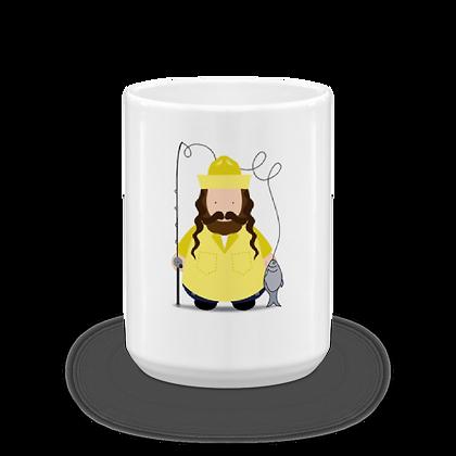 Fisherman Rebbe Mug