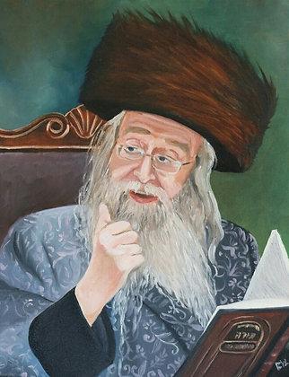 The Nikolsburg Rebbe Shlita