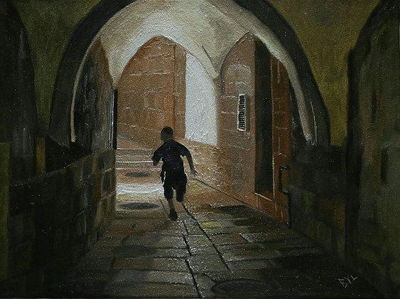 A Child in the Jewish Quarter