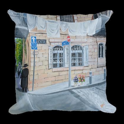 Jerusalem Street Pillow
