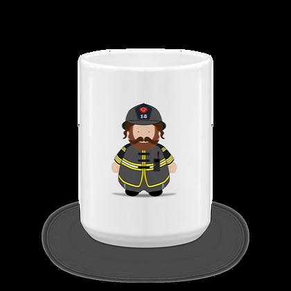 Fireman Rebbe Mug