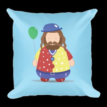 Clown Rebbe Pillow
