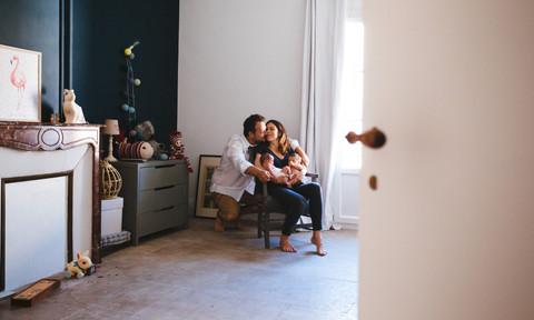 Séance Photo Bébé Lifestyle à Poussan - Josephine & Augustin