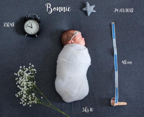Séance Nouveau-né - Bonnie 14 Jours.