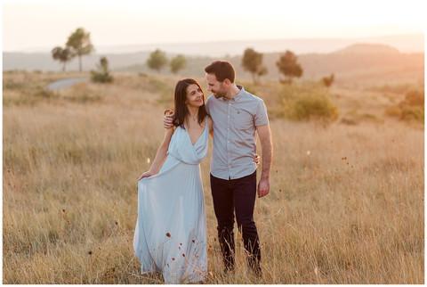 Séance engagement - Lucie & Xavier