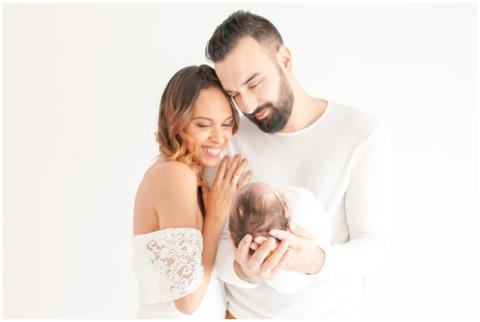 Séance bébé au studio - Yanis, 1 mois.