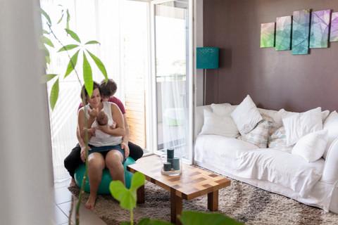 Séance Bébé Lifestyle -  Montpellier – Louis 1 mois.