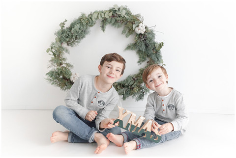 Mini Séance de Noël - Karine, Marius & Gaspard