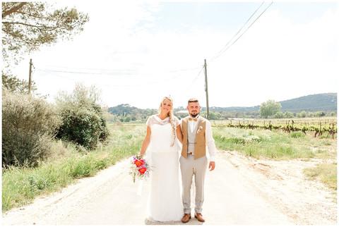 Mariage Marielle & Mathieu - Mas des violettes