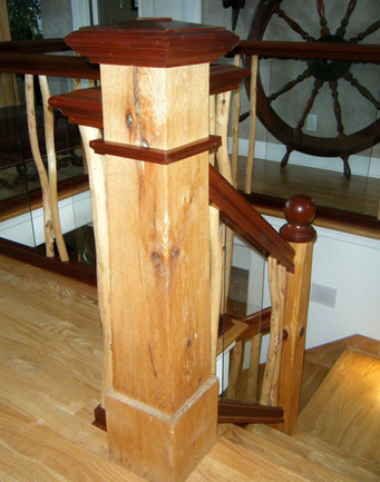 Northwoods-inspired Hand Rail