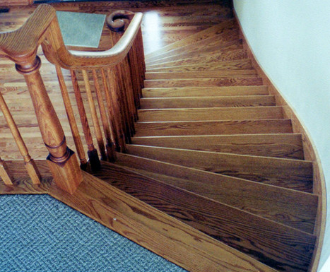 Custom-fitted Staircase