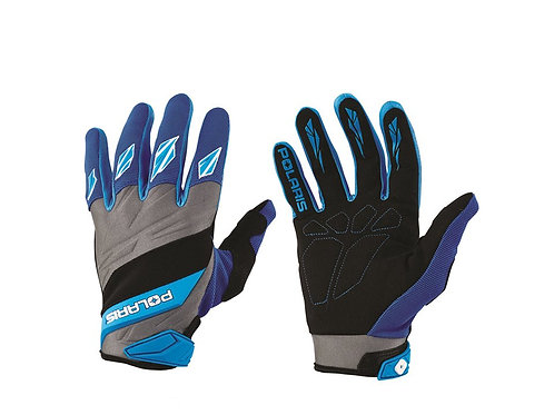 Off-Road Riding Gloves- Blue
