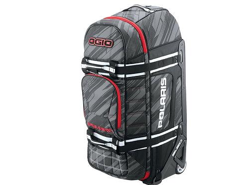 Roller Bag Subtle Stripe- Black/Red