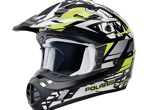 Tenacity Helmet- Black/Lime Punch Gloss