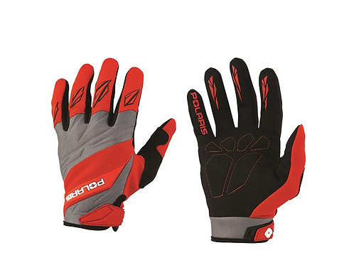 Off-Road Riding Gloves- Red