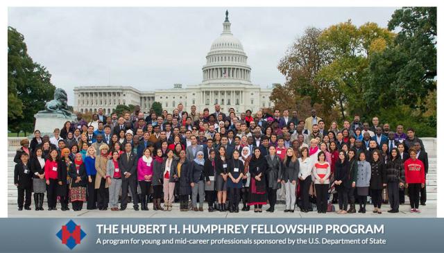 Du học Mỹ: Học bổng Hubert Humphrey cho nghiên cứu sinh theo chương trình Humphrey Fellowship Progra