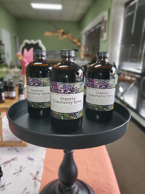 Elderberry Syrup (Elderberry Love)  - 16oz