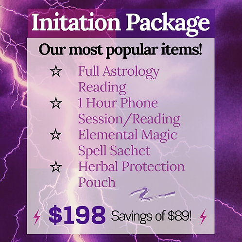 Initiation Package