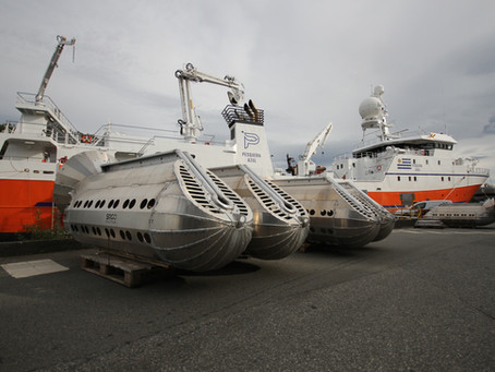 FV Ocean Azul is ready for the Southern ocean