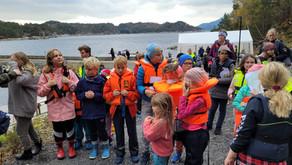 Fiskekonkurranse og utekafe