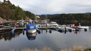 Fiskekonkuranse i båthavna
