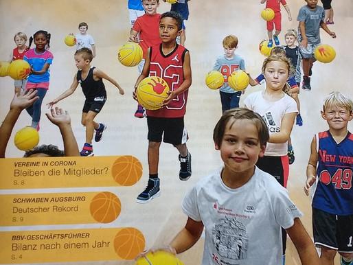 Schwaben Knights in der aktuellen Ausgabe der Bayern Basket