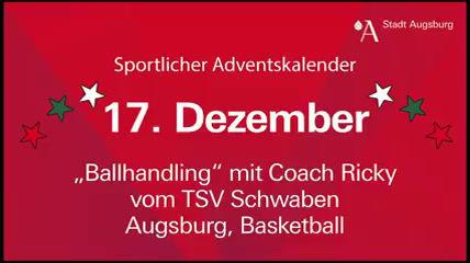 Sportlicher Adventskalender der Stadt Augsburg