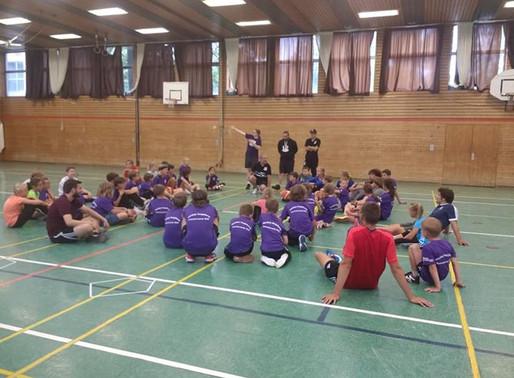 Schwabenhockey zu Gast bei den Schwaben Knights Basketballern