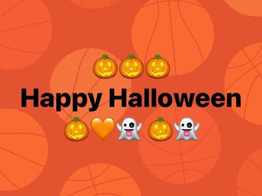 Basketball trifft auf Halloween