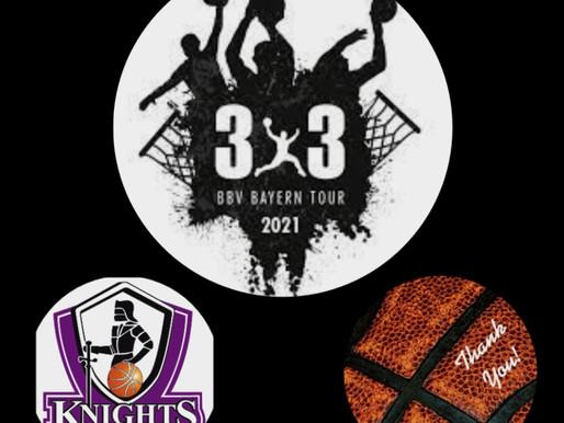 3 x 3 Basketballturnier