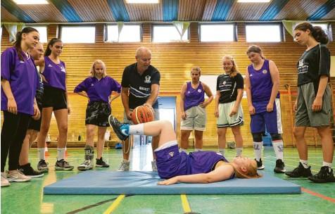 Friecher Wind im Mädchen Basketball