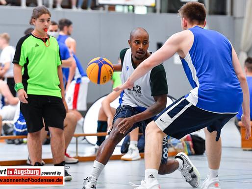 Die Basketballabteilung des TSV Schwaben Augsburg veranstaltete am 10.07.2021