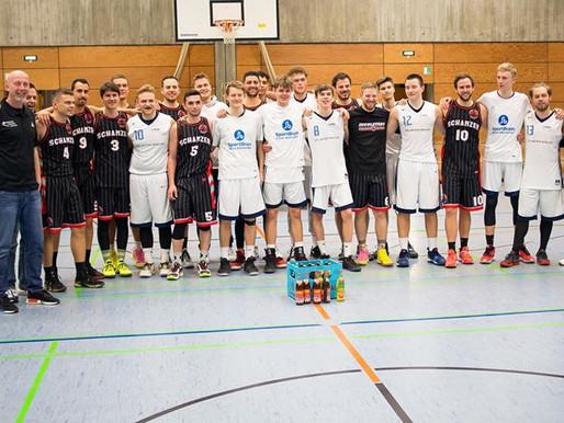 Hallo und Glückwünsche den Schanzer Baskets Ingolstadt zum Aufstieg
