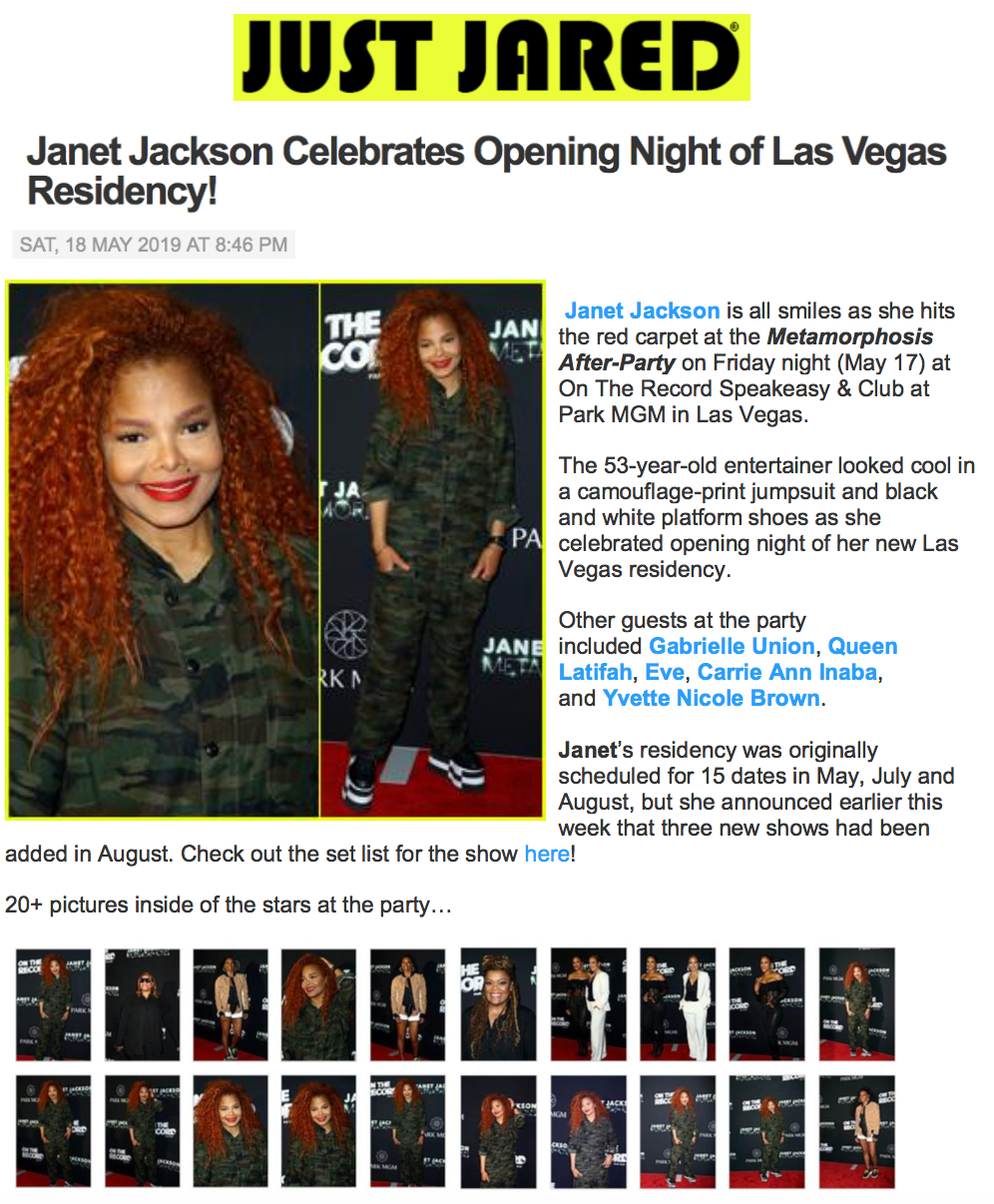 Janet JustJared
