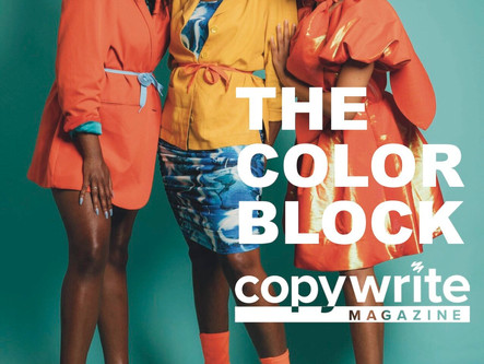 The Color Block   CW Fashion Feature
