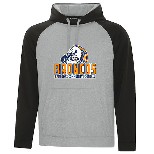 Broncos 2-Tone Hooded Fleece - YOUTH