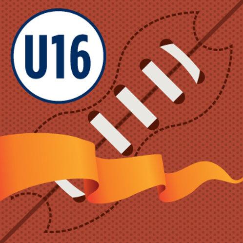 U16 Flag Football/Skills Program