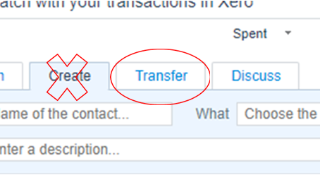 How to process bank TRANSFERS