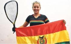 La boliviana Natalia Méndez se consagra campeona mundial en raquetbol