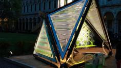 El Urban Algae Canopy es un sistema de purificación de aire a base de algas